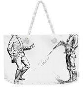 Remington: Cowboy, 1888 Weekender Tote Bag
