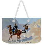 Remington: Guard, 1890 Weekender Tote Bag