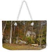 Remote Vermont Cabin Weekender Tote Bag