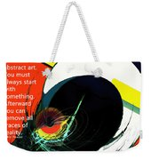 Removing Reality Weekender Tote Bag