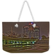 Renaissance Center Detroit Mi Weekender Tote Bag