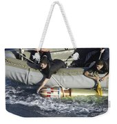 Rescue Swimmers Pull A 480-pound Weekender Tote Bag