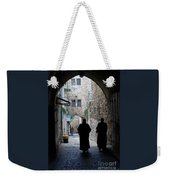 Residents Of Jerusalem Old City Weekender Tote Bag