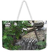 Respite From The Maddening Crowds Weekender Tote Bag