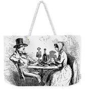 Restaurant, 19th Century Weekender Tote Bag