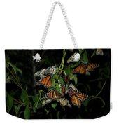 Resting Monarchs Weekender Tote Bag