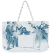 Resurrection Of Henry Box Brown Weekender Tote Bag by Photo Researchers