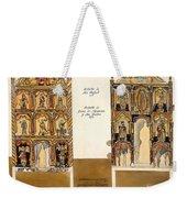 Retablo, 1816 Weekender Tote Bag