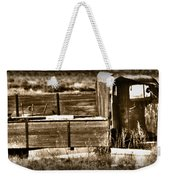 Retired Truck Weekender Tote Bag