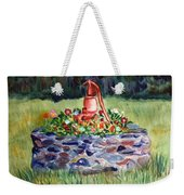 Retired Water Pump Weekender Tote Bag