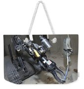 Retractable Arm Of Talon 3b Robot Weekender Tote Bag by Stocktrek Images