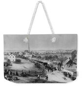 Retreat Of British From Concord Weekender Tote Bag