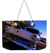 Retro Ford At Bob's Weekender Tote Bag