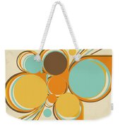 Retro Pattern Weekender Tote Bag