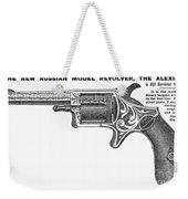 Revolver Ad, 1878 Weekender Tote Bag