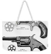 Revolvers, 19th Century Weekender Tote Bag