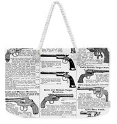 Revolvers And Pistols, 1895 Weekender Tote Bag