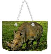 Rhinoceros 101 Weekender Tote Bag