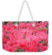 Rhodies Art Prints Pink Rhododendrons Floral Weekender Tote Bag