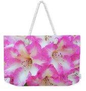Rhododendron- Hot Pink Weekender Tote Bag