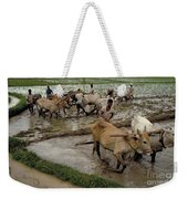 Rice Cultivation Weekender Tote Bag