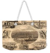 Rice Plantation, 1866 Weekender Tote Bag
