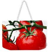Rich Red Tomatoes Weekender Tote Bag