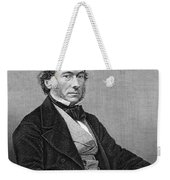 Richard Cobden (1804-1865). /nenglish Politician And Economist. Steel Engraving, English, 19th Century Weekender Tote Bag