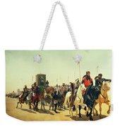 Richard Coeur De Lion On His Way To Jerusalem Weekender Tote Bag