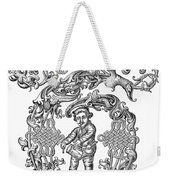 Richard Tarlton (1530-1588) Weekender Tote Bag