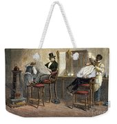 Richmond Barbershop, 1850s Weekender Tote Bag