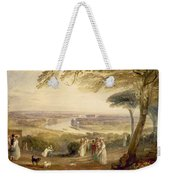 Richmond Terrace Weekender Tote Bag by Joseph Mallord William Turner