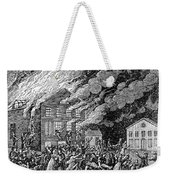Richmond: Theater Fire Weekender Tote Bag