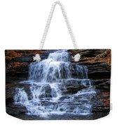 Ricketts Glen Waterfall 4075 Weekender Tote Bag