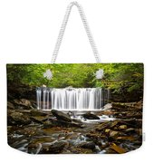 Ricketts Glen Waterfall Oneida Weekender Tote Bag