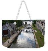 Rideau Canal And Locks - Ottawa Weekender Tote Bag