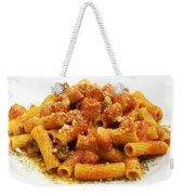 Rigatoni All'amatriciana Weekender Tote Bag