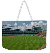 Right To Left At Oriole Park Weekender Tote Bag