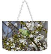Ring-necked Parakeet Weekender Tote Bag