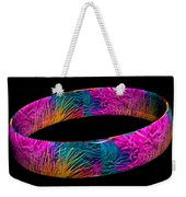 Ring Of Feathers 3d Weekender Tote Bag