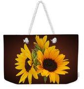 Ring Of Sunflowers Weekender Tote Bag