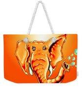 Ringo Party Animal Orange Weekender Tote Bag