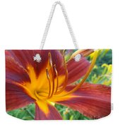 Ripe Blood Orange Weekender Tote Bag by Trish Hale