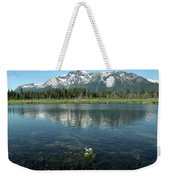 Ripples On Lake Of Mt Tallac Weekender Tote Bag