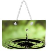 Ripples Radiating Out From Drop Weekender Tote Bag