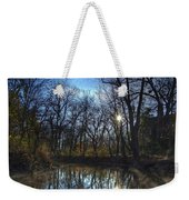 Rising On The River Weekender Tote Bag