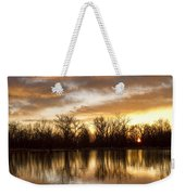 Rising Sun At Crane Hollow Weekender Tote Bag
