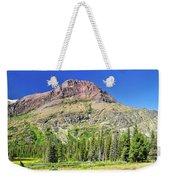 Rising Wolf Mountain Weekender Tote Bag