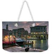 Riva Del Vin. Venezia Weekender Tote Bag