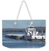 River Barge Weekender Tote Bag